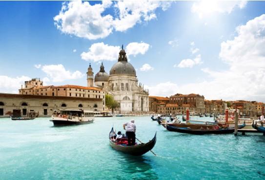 外国古典城镇风景